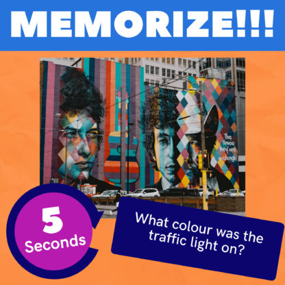 Memorize: the frantic picture memory game