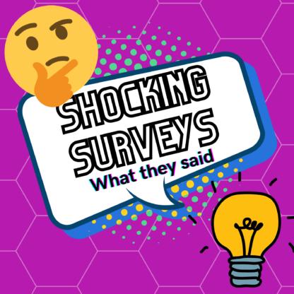 Shocking surveys family feud style game
