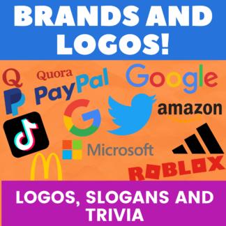 Brands and logos: logos, slogans and trivia