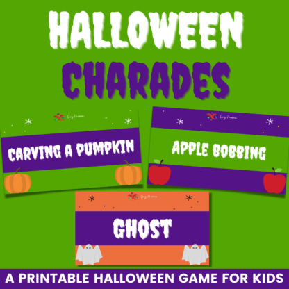 Halloween charades