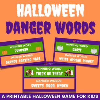 Halloween danger words