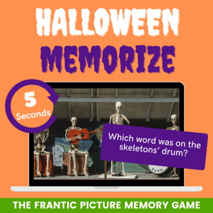 Halloween memorize: the frantic picture memory game!