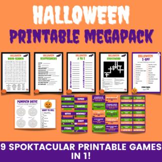 Halloween printable megapack