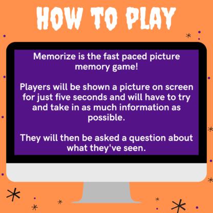 How to play Halloween memorize